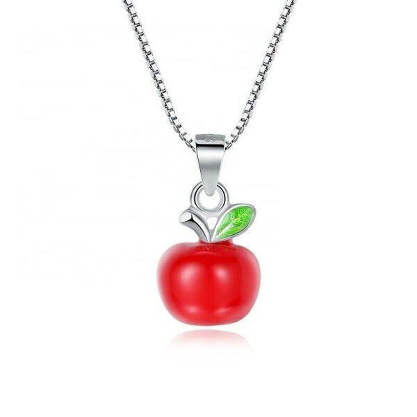 3D Apfel Emailliert