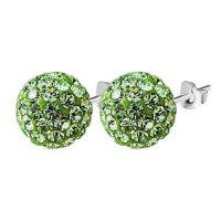 Stud earrings Shamballa