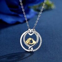 Pendant hands of child and mom/dad