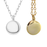Necklace Round Minimalist