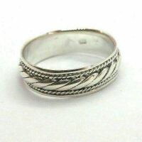 Ring braid pattern