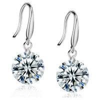 Klassiche Ohrringe 925 Silber Schlicht Elegant ?...