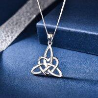 Anhänger keltischer Knoten mit Herz