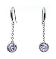 Moderne Ohrringe 925 Silber Minimalistisch Zeitlos...