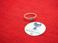 Spiralen Ring aus 925 Sterling Silber Silber Mittelalter Wikinger Kelten Ethno