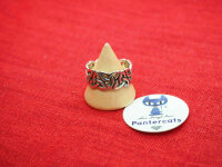 Trinquetta Ring 925 Sterling Silber Viking Wikinger Medival schlange Triskele