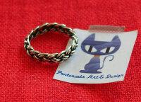 Verlobung Keltischer Knoten Ring 925 Sterlingsilber...